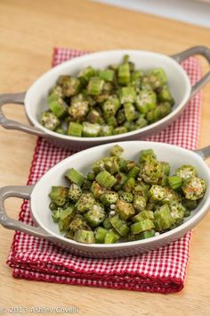 Roasted Okra, this was fantastic!!!!! I roasted it for close to 30 minutes, since I used frozen okra, stirred it half way through and then sprinkled with more salt before serving, seriously could eat this like popcorn!  My husband loved it too, and he doesn't like okra.