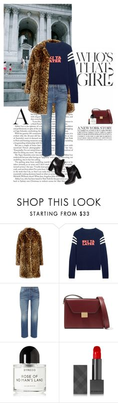 """""""Untitled #668"""" by syarahahaha ❤ liked on Polyvore featuring J.Crew, Chinti and Parker, Frame, Pierre Hardy, Victoria Beckham, Byredo and Burberry"""
