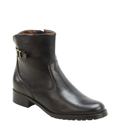 Ankle boots/leather
