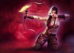 Tomb Raider 2013 Archers Warriors Lara Croft Singlet Games Girls wallpaper background