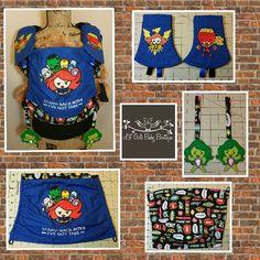 Sidekick girl Tula accessories