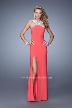 Prom and Homecoming Dresses La Femme 21255 La Femme Prom One Enchanted Evening - Designer Bridal, Pageant, Prom, Evening & Homecoming Gowns
