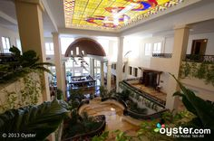 Lobby at the Excellence Playa Mujeres