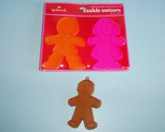 Hallmark Gingerbread Twins Cookie Cutters by AnEclecticEccentrica