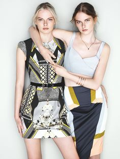 Exclusive: Sisters Elza and Vera Luijendijk Front Cue S/S 2013 Campaign | Fashion Gone Rogue: The Latest in Editorials and Campaigns