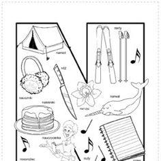 Kolorowanki, ubieranki, karty do wydrukowania. - Printoteka.pl Study, Children, Speech Language Therapy, Young Children, Studio, Kids, Investigations, Studying, Children's Comics