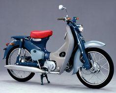 Honda Super Cub C100 1958, JAPON