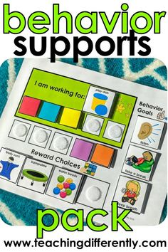 Positive Reinforcement Pack Positive reinforcement visuals and behavior systems (including token boards, first/then boards, work choices boards, and so much more) in 11 different colors so that you can color-code your autism or special education classroom Special Education Behavior, Classroom Behavior Management, Kids Education, Special Education Activities, Teacher Education, Higher Education, Elementary Special Education, Amazon Education, Texas Education