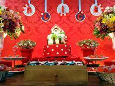 Fadas Madrinhas Decorações (Chapeuzinho Vermelho)