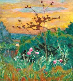 Pierre Bonnard, Jardin À Vernonnet