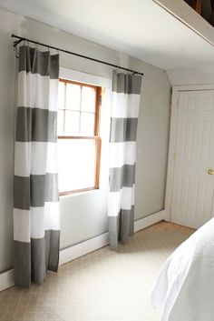 DIY Curtains from Shower Curtains