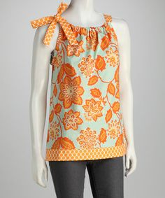 Take a look at this Amber Flower Top - Women on zulily today!