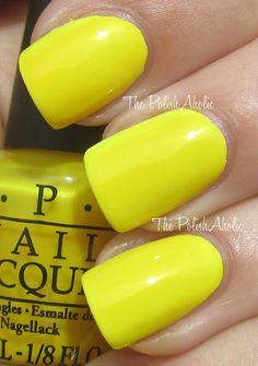 O.P.I. Nail Polish - Ridiculously Yellow