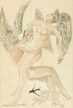 Maja Berezowska - Anielska miłość, 1957 r.
