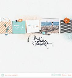Creative Team Inspiration | One Little Bird #scrapbooking