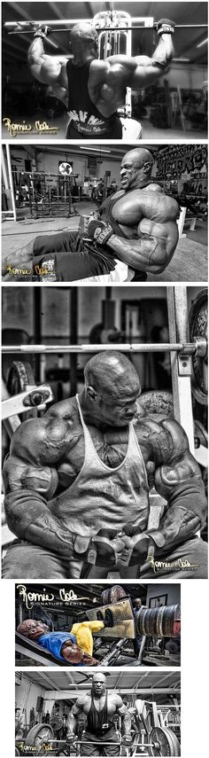 Ronnie Coleman infographic