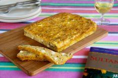 Carolines blog: Peynirli ekmek (feta kaas brood)
