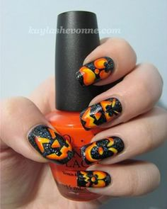 Halloween Nail Design Ideas | Spook up your nails with DIY Halloween designs - Page 2