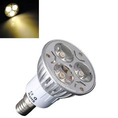 E14 3W Warm White 3 LED Energy Saving Spot Light Lamp Bulb 85-240V  Worldwide delivery. Original best quality product for 70% of it's real price. Buying this product is extra profitable, because we have good production source. 1 day products dispatch from warehouse. Fast & reliable...
