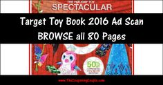 ***Target Toy Book 2016 Ad Scan ~ BROWSE ALL 80 Pages of this Years Target Toy Book*** Target will open at 6:00pm on Thanksgiving and Prices in this Scan are Valid from 11/26 to 11/28 (with some exceptions)! Click the Picture below to BROWSE all 80 Pages ► http://www.thecouponingcouple.com/target-toy-book-2016-ad-scan/  Use the SHARE button below the Picture to SHARE this Deal with your Family and Friends!  #Coupons #Couponing #CouponCommunity #TargetAd #TargetAdPrevi