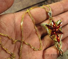 On Sale Arwen Evenstar Necklace LOTR Lord of the by jewelpradise, $12.99