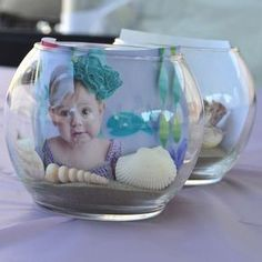 Under the Sea Birthday Party Ideas First Birthday Party Themes, Moana Birthday Party, Baby Girl Birthday, Birthday Ideas, Mermaid Birthday Decorations, Mermaid Baby Showers, Mermaid Parties, Baby Party, Baby Shark