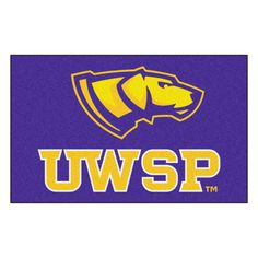 "University of Wisconsin-Stevens Point Ulti-Mat 5x8 - Show your team pride and add style to your tailgating party with Sports Licensing Solutions 5'x8' area rugs. Made in U.S.A. 100% nylon carpet and non-skid recycled vinyl backing. Officially licensed and chromojet printed in true team colors.FANMATS Series: ULTIMATTeam Series: University Of Wisconsin-Stevens PointProduct Dimensions: 59.5""x94.5""Shipping Dimensions: 32""x20""x6"". Gifts > Licensed Gifts > Ncaa > All Colleges > University Of…"