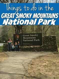 I never knew there was so much to see and do in the Smoky Mountains National Park. Plus right outside the park is the Cherokee Indian Reservation! There is so much to take in and most of it is free! Free open-air museums, free tours, free junior ranger program free hikes, and more. You won't believe some fo the animals we saw just driving through.