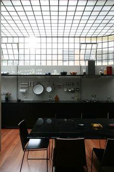 Industrial Loft Kitchen By Architects AR Arquitetos Via Remodelista