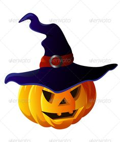 Scary Halloween Pumpkin in Witch Hat  #GraphicRiver         Scary Halloween Pumpkin in Witch Hat. Vector isolated     Created: 15November13 GraphicsFilesIncluded: VectorEPS Layered: Yes MinimumAdobeCSVersion: CS5 Tags: autumn #background #cartoon #carved #celebration #cute #dark #design #evil #fall #ghost #halloween #hat #helloween #holiday #horror #invitation #jack #lanternface #magic #mooncastle #night #pumpkin #scary #set #skull #sorcerer #vector