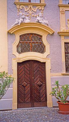 Baroque doorway in Austria by Terence Faircloth via Flickr