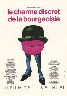 O Discreto Charme da Burguesia (Le charme discret de la bourgeoisie), 1972.