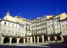 Plaza Mayor de Ourense, Galicia, España