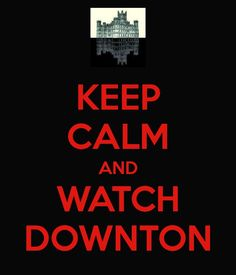 Real life has gotten a bit too much to bear as of late; good thing Downton came into my life.
