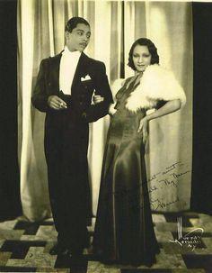 Margot  Webb Harold Norton  ballroom dancers