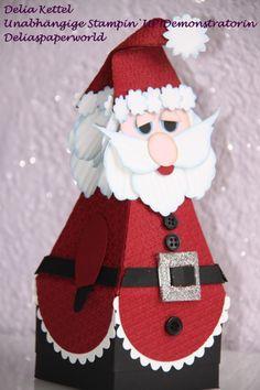 """""""Punch Art"""" """"Santa Box"""""""