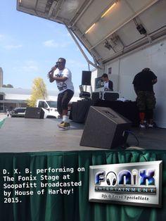 DJ Fonix mixing it up for Soopafitt 2015!