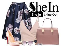 """Shein.com - Contest!"" by asia-12 ❤ liked on Polyvore featuring Christian Louboutin, MaxMara, Marc by Marc Jacobs and Oravo"