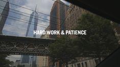 Hard Work & Patience A @garyvee  Original Film   Via @YouTube   #mentoring #startups #business