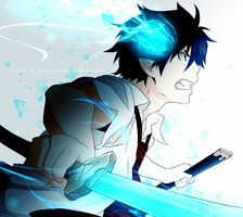 blue exorcist, anime, and rin okumura Bild Manga Anime, Art Anime, Anime Guys, Rin Okumura, Blue Exorcist Anime, Ao No Exorcist, Tatsumaki One Punch Man, Onii San, Another Anime