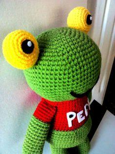 Sapo pepe! amigurumi crochet facebook.com/numitejidos