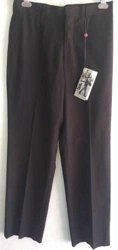 NEW Men's Billy London Black Stripe Seps Trouser Pant Slacks 30 x 32 NWT $80  | eBay