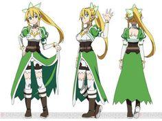 "Crunchyroll - ""Sword Art Online"" Fairy Dance Arc Character Designs Revealed"