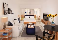 The best luxury suites in Mykonos are offered at the Mykonos Grand boutique hotel & resort. Spacious, luxurious suites accommodation with sea views & pools. Small Luxury Hotels, Luxury Accommodation, Grand Hotel, Contemporary Decor, Sofa Bed, Floor Chair, Living Area, Mykonos Greece, Indoor