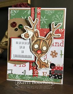 Bellarific Friday NOVEMBER 25-RUBBER STAMP USED: NACHODEER