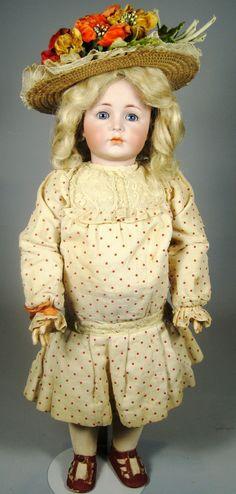 A/O K*R Mein Liebling Kammer Reinhardt 117 Antique Doll from victoriasdollhouse on Ruby Lane