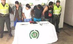 La Policia Nacional captura a pupi y tres de sus secuaces por hurto en Yondo