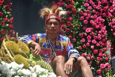 Kadayawan saDavao Festival.  Davao City PHILIPPINES