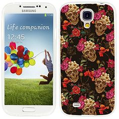 S4 Case,Samsung S4 Case,Galaxy S4 Case,ChiChiC full Protective Case slim durable Soft TPU Cases Cover for Samsung Galaxy S4 I9500 I9505 Galaxy S IV,vintage retro gold skull with pink yellow flower. Perfectly fit for Samsung Galaxy S4 I9500 I9505 SPH-L720 SGH-I337 SCH-I545 SGH-M919 SCH-R970 GT-I9505G. Slim SOFT TPU Galaxy S4 Case ,Durable, Flexible .Made of Dupont top-rate raw materials. Provide FULL PROTECTION,Raised lip to protect the camera.Perfect user experience, Easy to put on and…