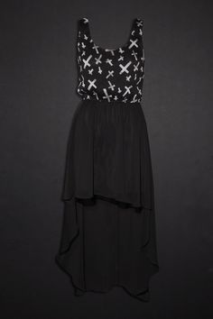 obsessed with this high low dress from hottopic. i love high low dresses there so cute c: and I love things from hottopic. I would love to get a job there.